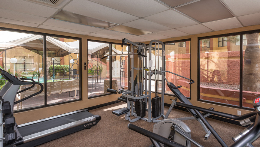 Fitness center at our Flamingo Las Vegas hotel | Westgate Flamingo Bay Resort | Westgate Resorts in Las Vegas NV