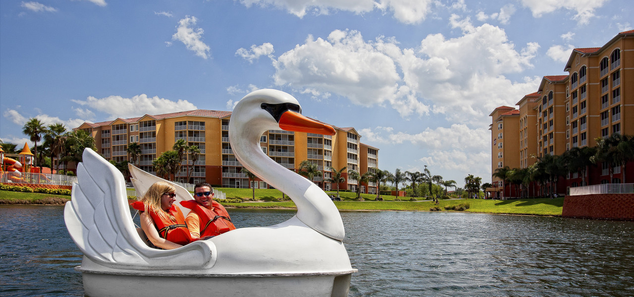 Swan Boats at Orlando Resort | Westgate Town Center Resort & Spa | Westgate Resorts