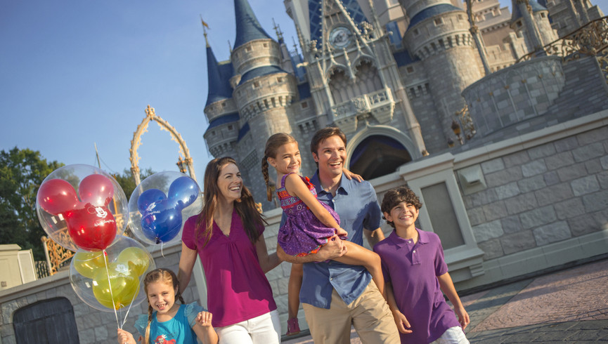 Family enjoying Disney attraction tickets from our Orlando resorts | Westgate Blue Tree Resort | Westgate Resorts Orlando
