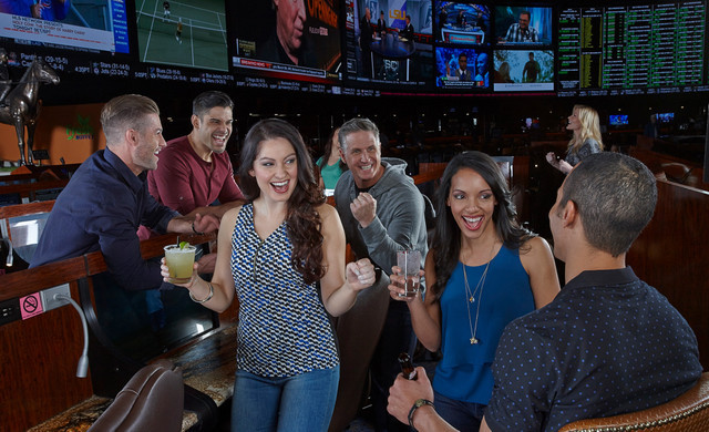 Group Of People Enjoying The SuperBook