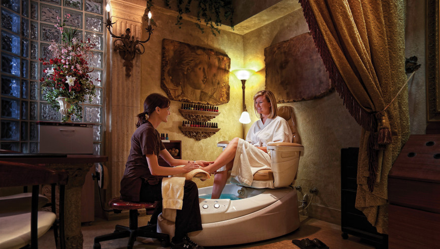 A Relaxing Pedicure At Serenity Spa