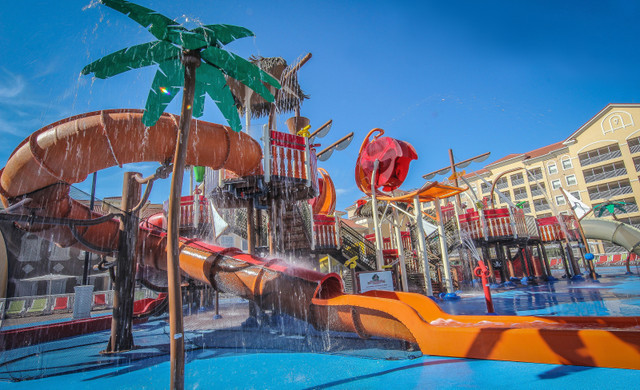 Water Resorts In Orlando - Shipwreck Island