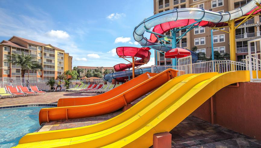 Island Water Park Slides | Westgate Town Center Resort & Spa | Westgate Resorts