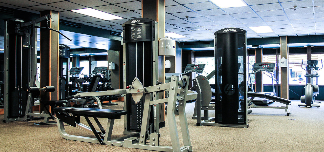 Fitness Center at Our Gatlinburg Resort near the Smoky Mountains | Workout Equipment
