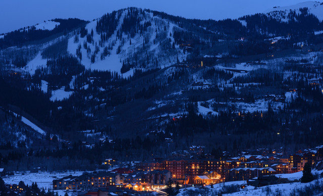 Fun Things To Do In Park City Utah With Kids | Our Park City Hotel At Nighttime