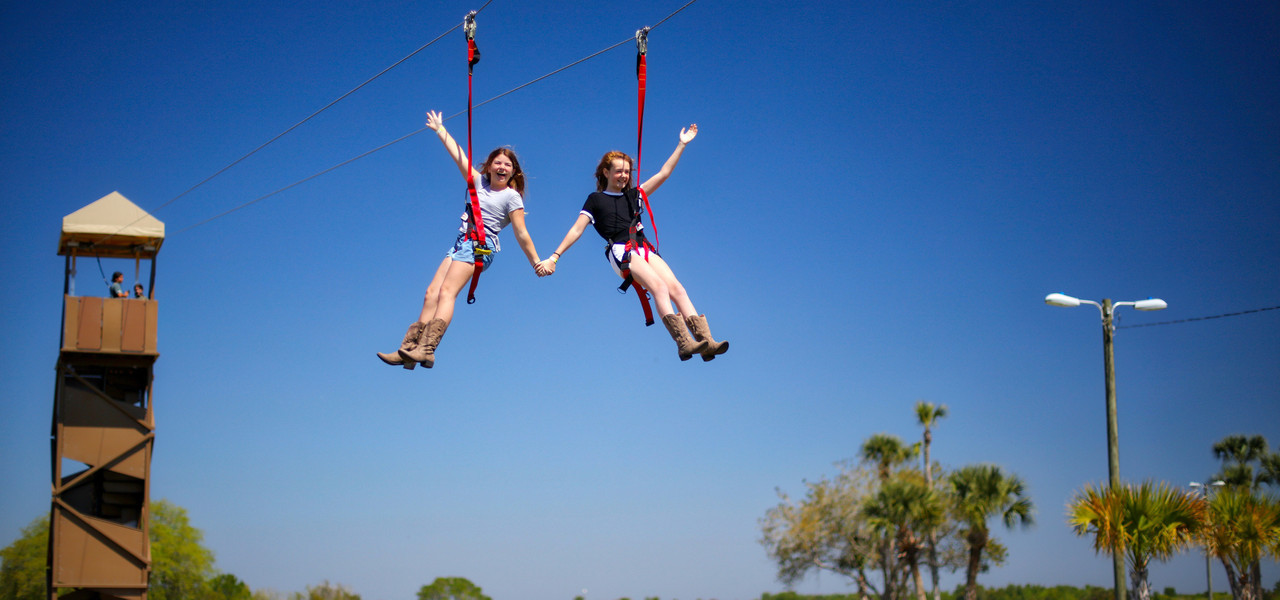 Zipline near Orlando, FL | Westgate River Ranch Resort & Rodeo | Westgate Resorts