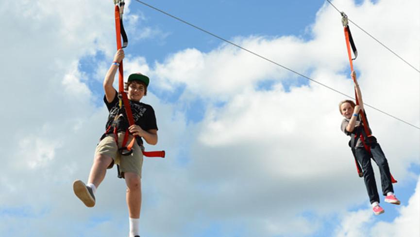 Zip-lining near Orlando, FL | Westgate River Ranch Resort & Rodeo | Westgate Resorts