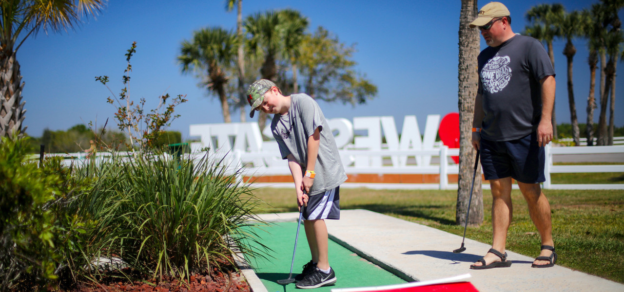 Family Mini-Golf near River Ranch, FL |  Westgate River Ranch Resort & Rodeo | Westgate Resorts