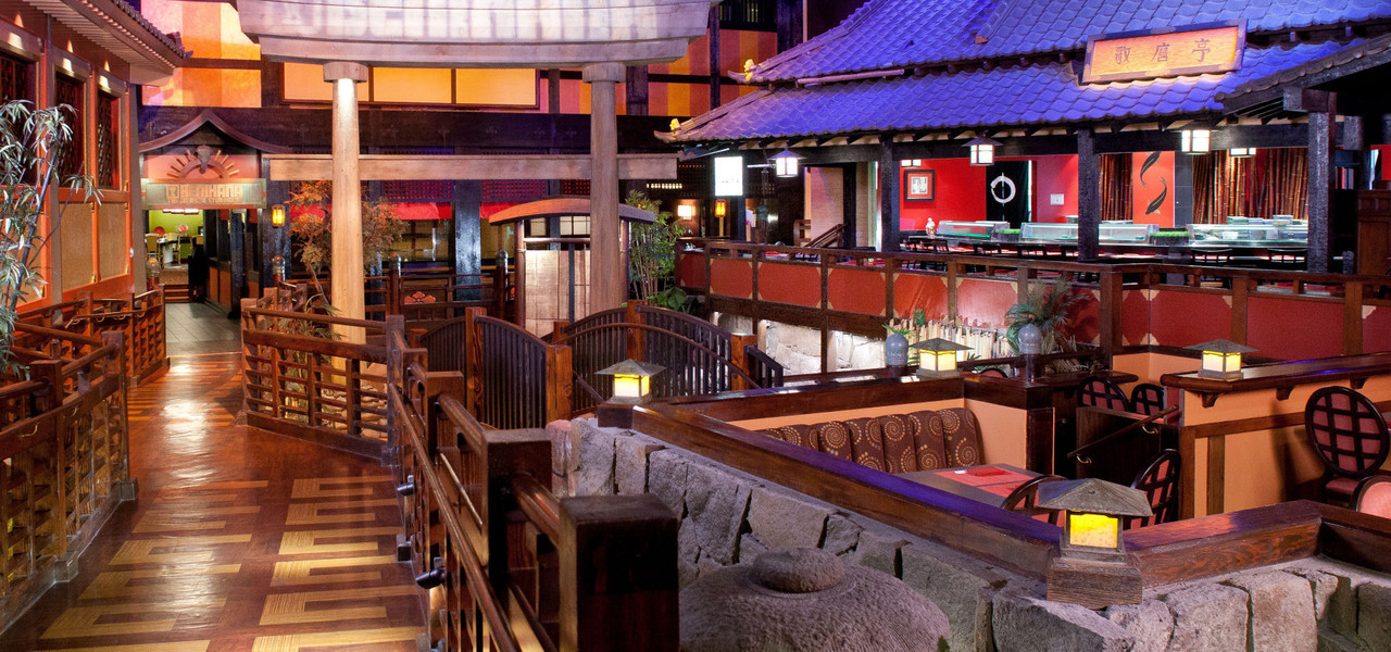 Interior of Benihana Las Vegas NV | Benihana hibachi in Las Vegas is world famous | Westgate Resorts