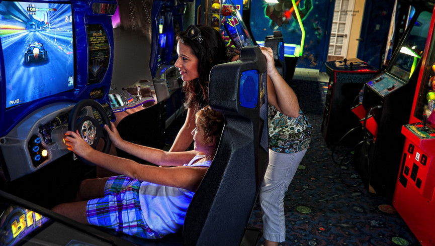Game room arcade at our Orlando resorts | Westgate Blue Tree Resort | Westgate Resorts Orlando