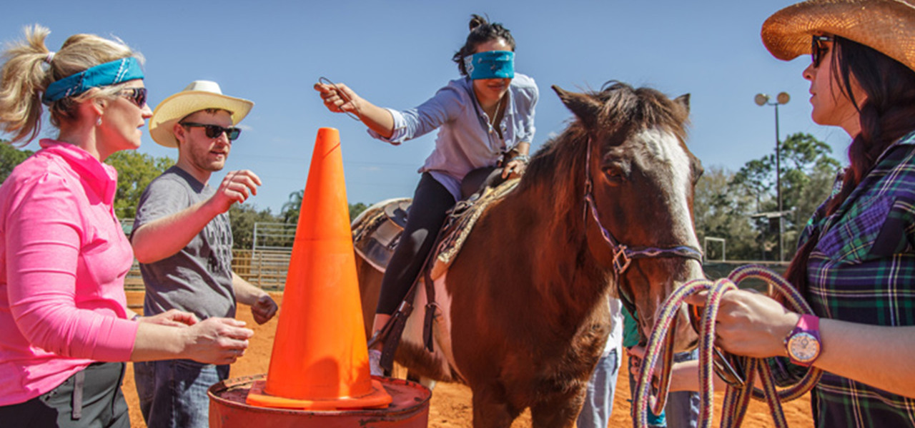 The Ideal Team Building Venue At A Real Florida Dude Ranch | Team Building