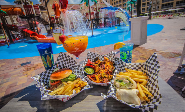Shipwreck Island Water Park Kissimmee | Food and Drinks Poolside