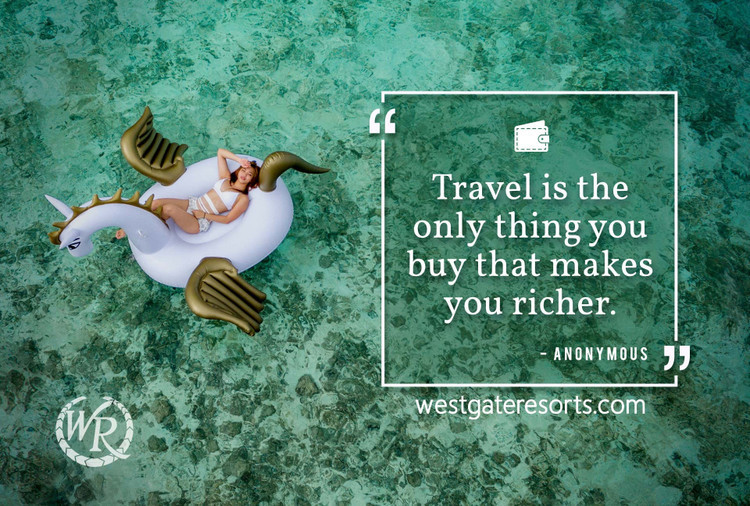 Travel is the Only Thing You Buy That Makes You Richer | Motivational Travel Quotes
