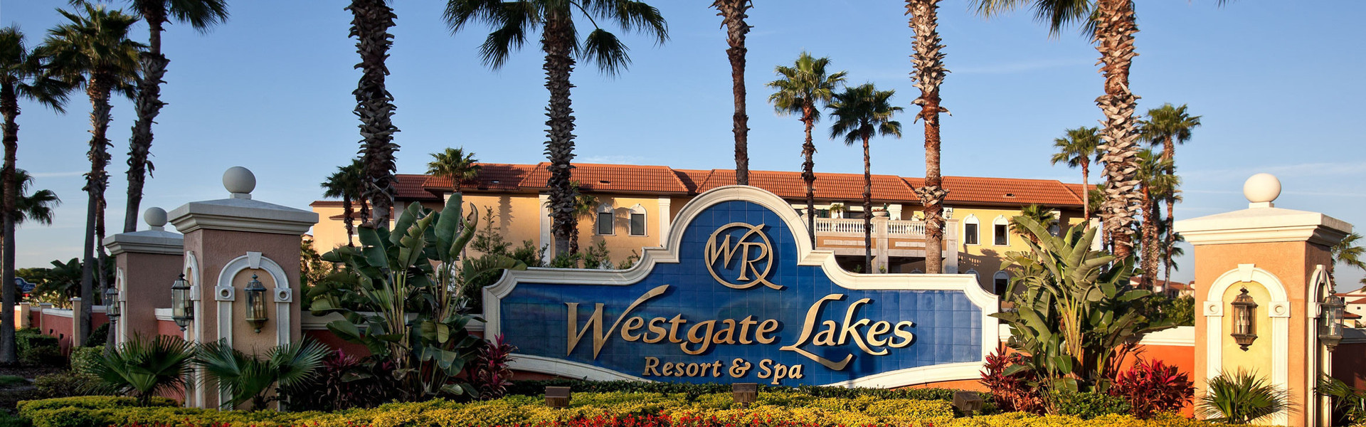 Photos of Orlando Florida Resort Entrance | Pictures of Westgate Lakes Resort & Spa