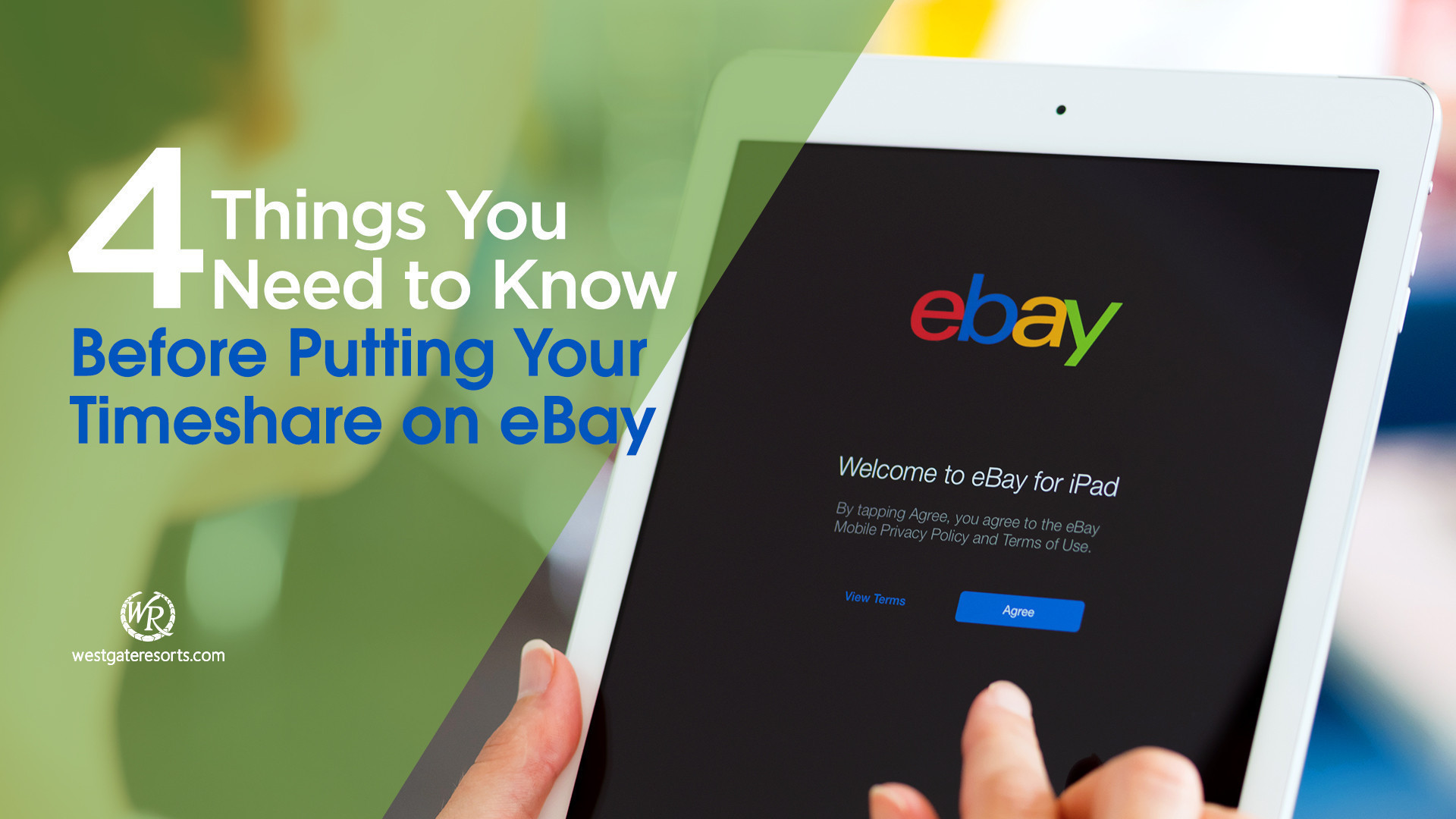 Putting Your Timeshare For Sale on eBay | eBay Timeshare Resales | Westgate Timeshare