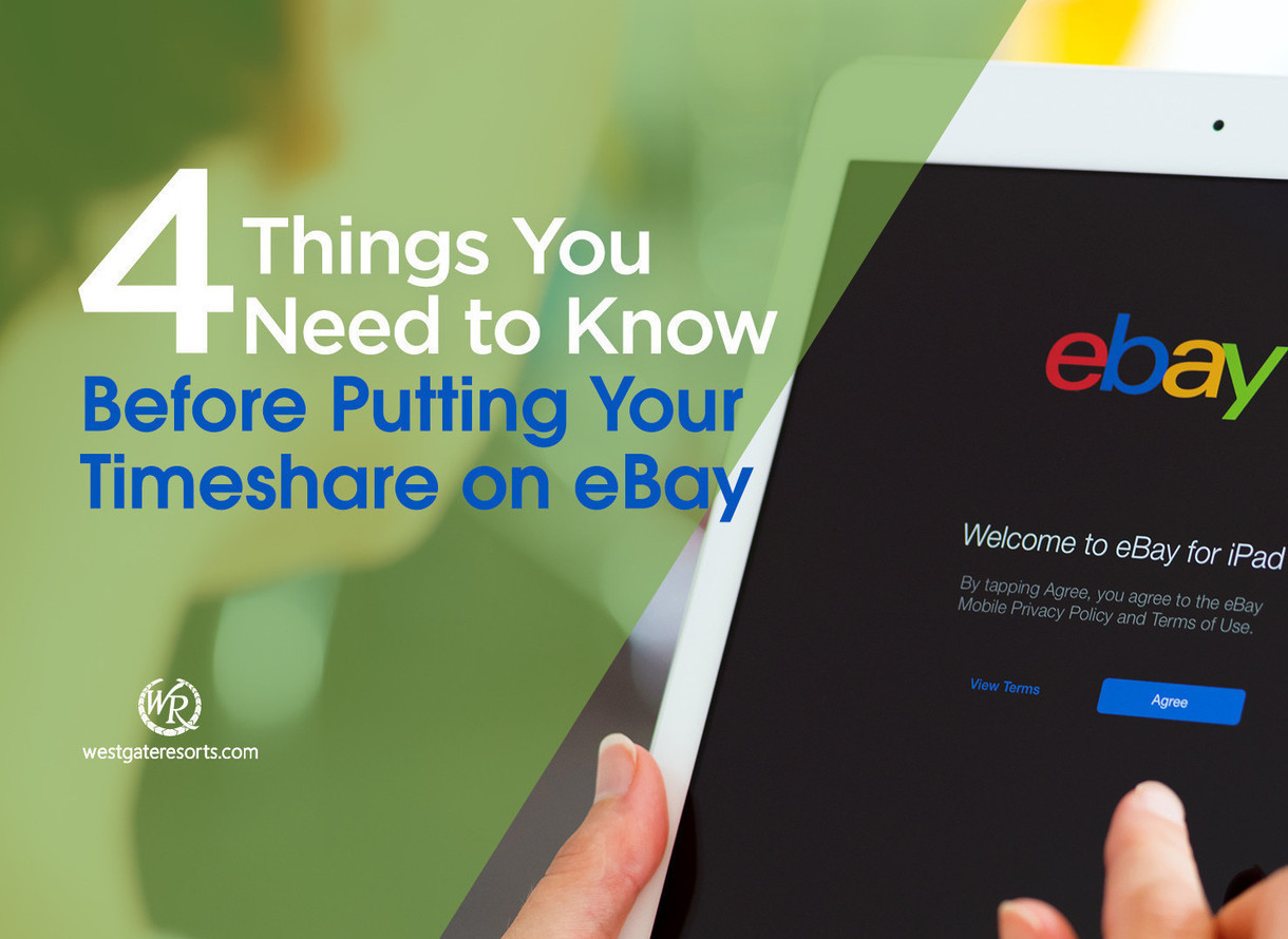 Ebay Mastercard Login >> 4 Things You Need To Know Before Putting Your Timeshare For Sale On