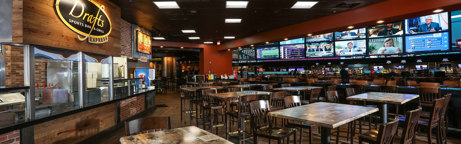 Vegas Sports Bar at our Las Vegas Hotel and Casino | Drafts Sports Bar & Grill