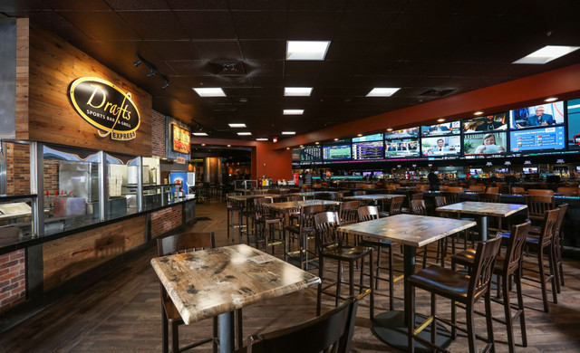 Vegas Sports Bar at our Las Vegas Hotel and Casino | Interior of Drafts Sports Bar & Grill