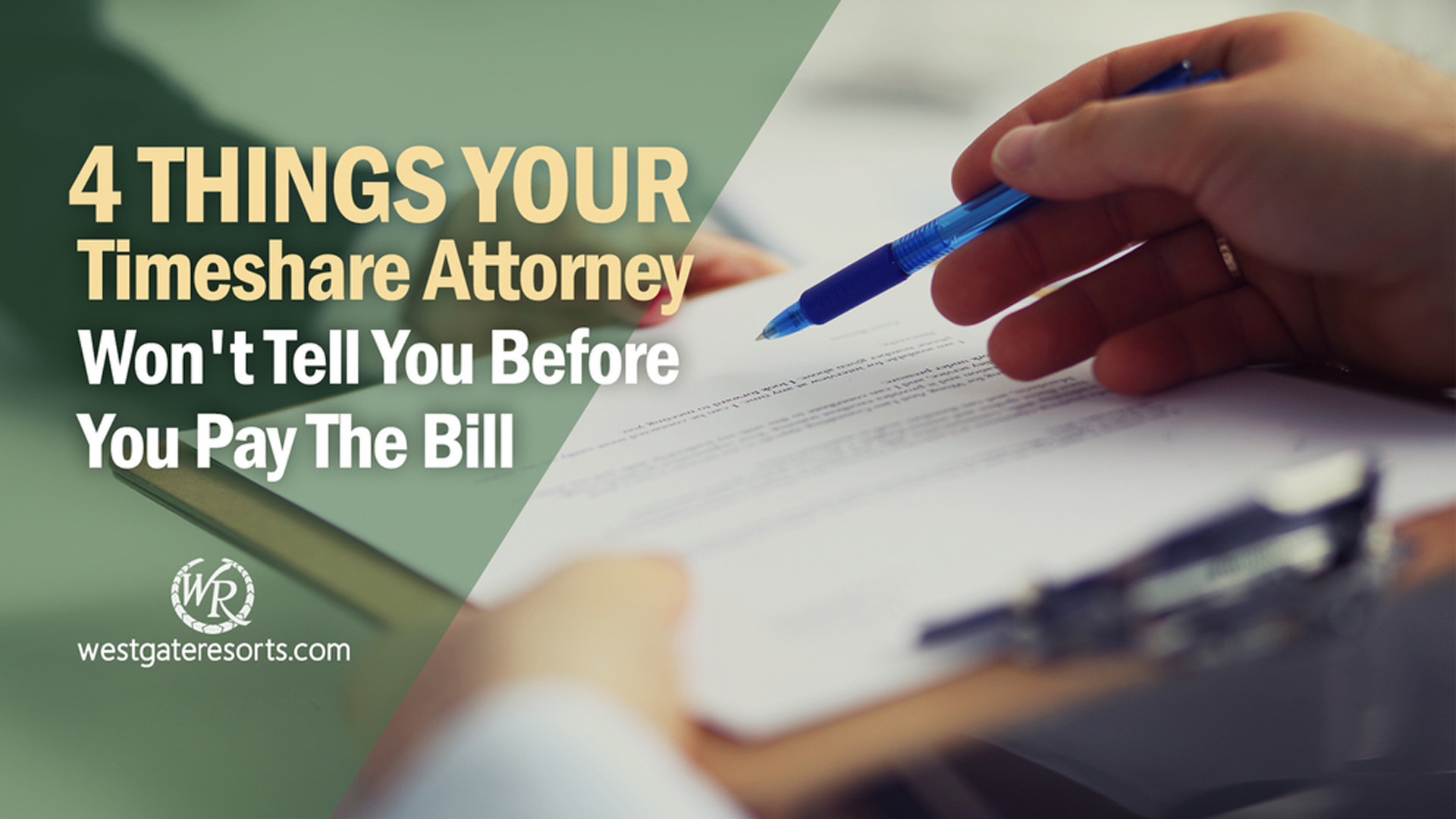 4 Things Your Timeshare Attorney Won't Tell You Before You Pay The Bill | Timeshare Exit Scams | Westgate Timeshare