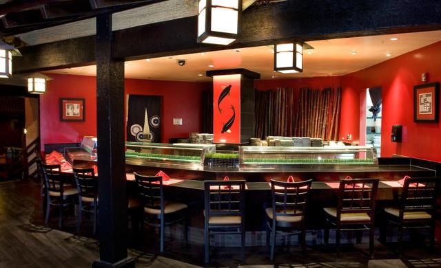 Sushi at our Las Vegas Hotel and Casino | Interior of Rikki Tiki Sushi