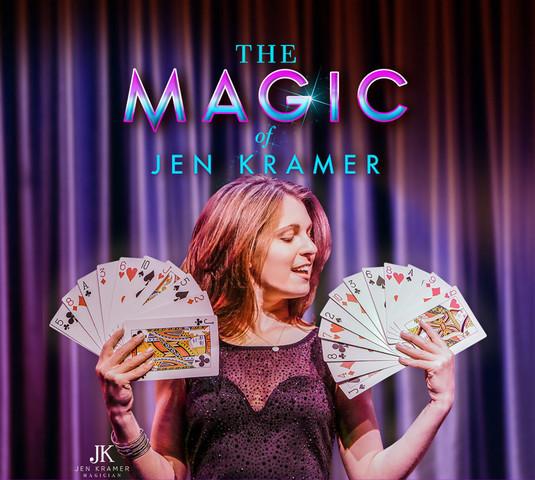 The Magic of Jen Kramer at our hotel in Las Vegas | Westgate Las Vegas Resort & Casino