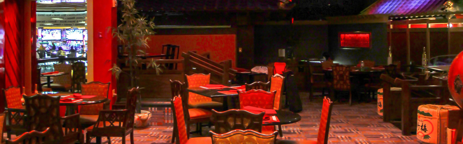 Silk Road Asian Bistro at our Las Vegas Hotel and Casino | Interior of Silk Road Asian Bistro