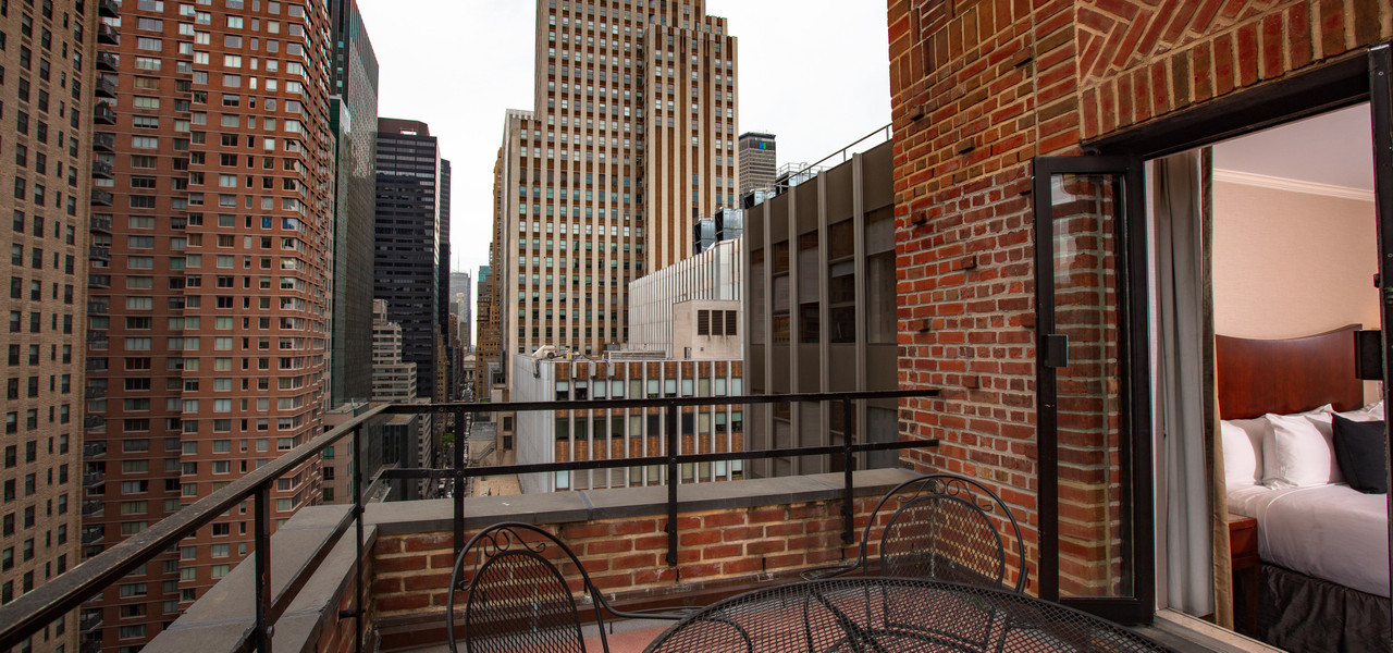 View From Hotel Balcony in NYC | Westgate New York Grand Central Hotel | Hotel Rooms Near Grand Central Station