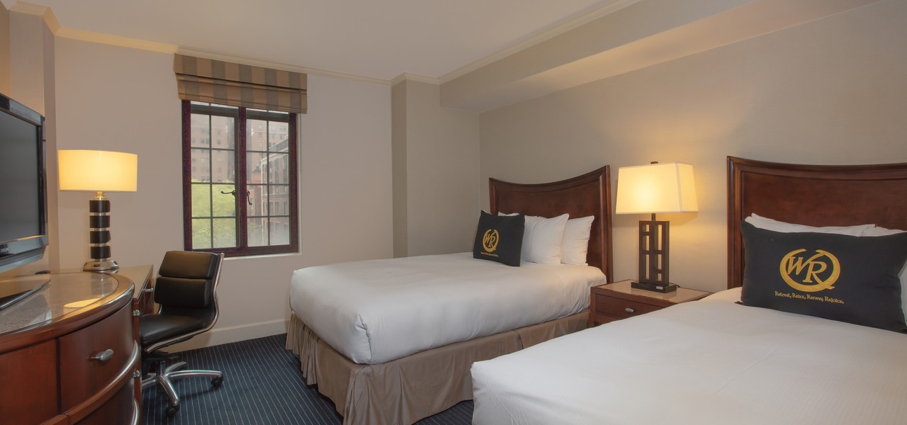 Two Double Bedroom With Balcony in NYC | Westgate New York Grand Central Hotel
