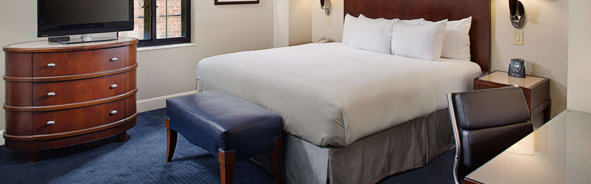 Signature King NYC Hotel Room | Westgate New York Grand Central Hotel | New York Hotels With King Beds