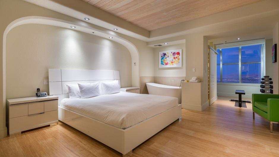 Bedroom in the Desert Suite - Westgate Las Vegas Resort
