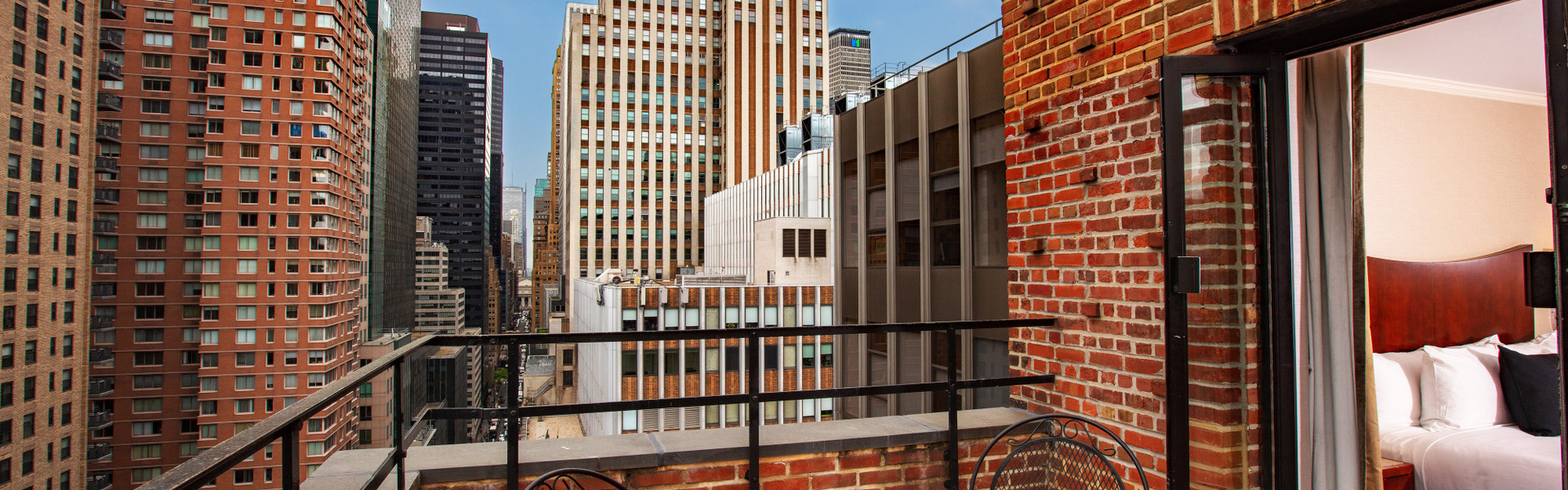 A View from our Midtown Manhattan Hotel Suites   Westgate New York Grand Central Hotel   New York City Hotel Suites for Families