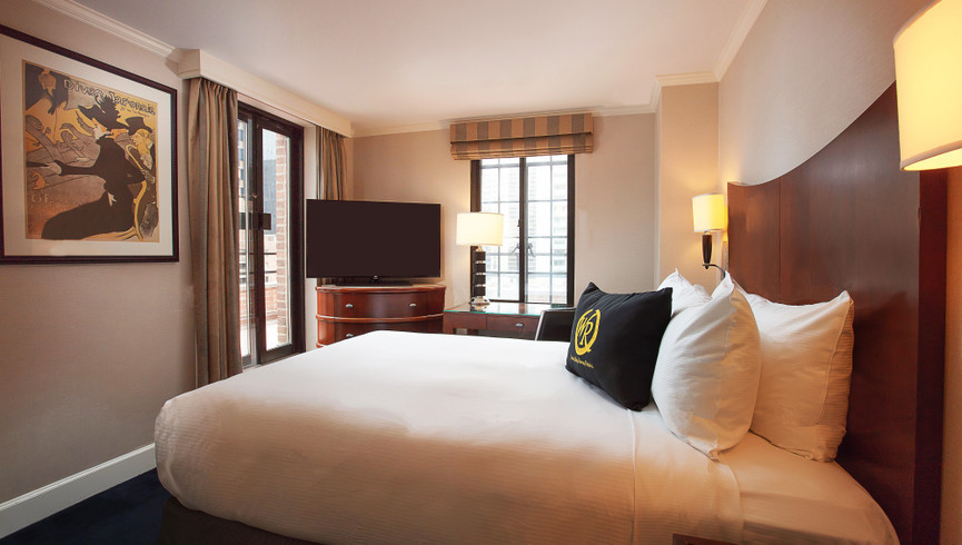 New York City Hotel Guestroom Photos | Westgate New York Grand Central Hotel | Midtown Manhattan Images