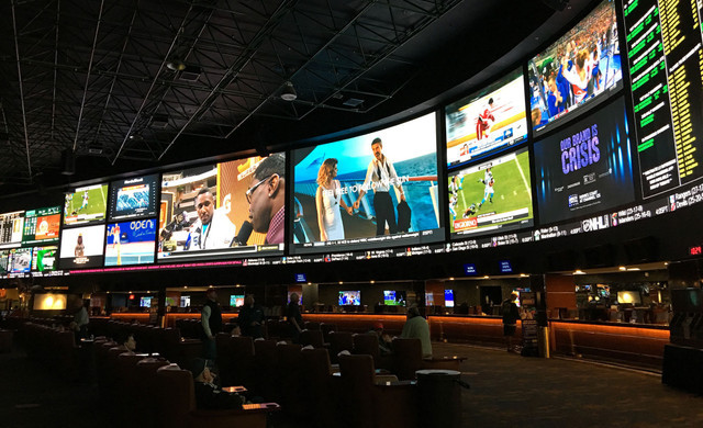 Events at our Las Vegas Hotel and Casino | Large Screens in Race & SportsBook