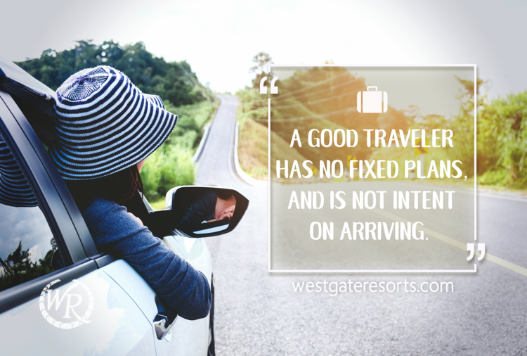 A Good Traveler Has No Fixed Plans, and is not Intent on Arriving | Lao Tzu | Motivational Travel Quotes