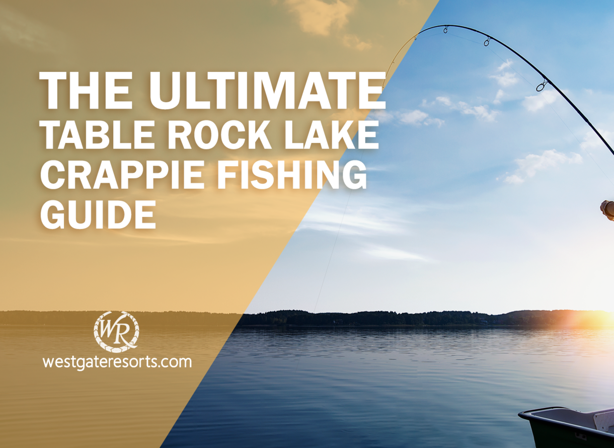 The Ultimate Table Rock Lake Crappie Fishing Guide Table