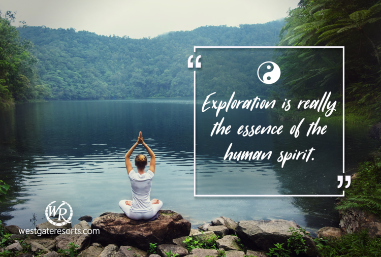 Exploration is Really the Essence of the Human Spirit | Frank Borman | Motivational Travel Quotes