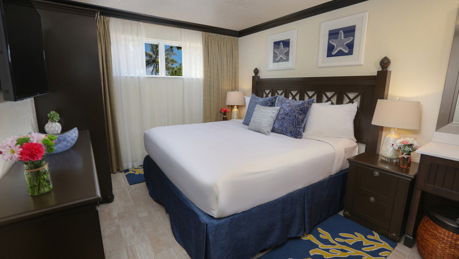 Bedroom in a Signature Two Bedroom Suite | Westgate Cocoa Beach Resort | Westgate Resorts