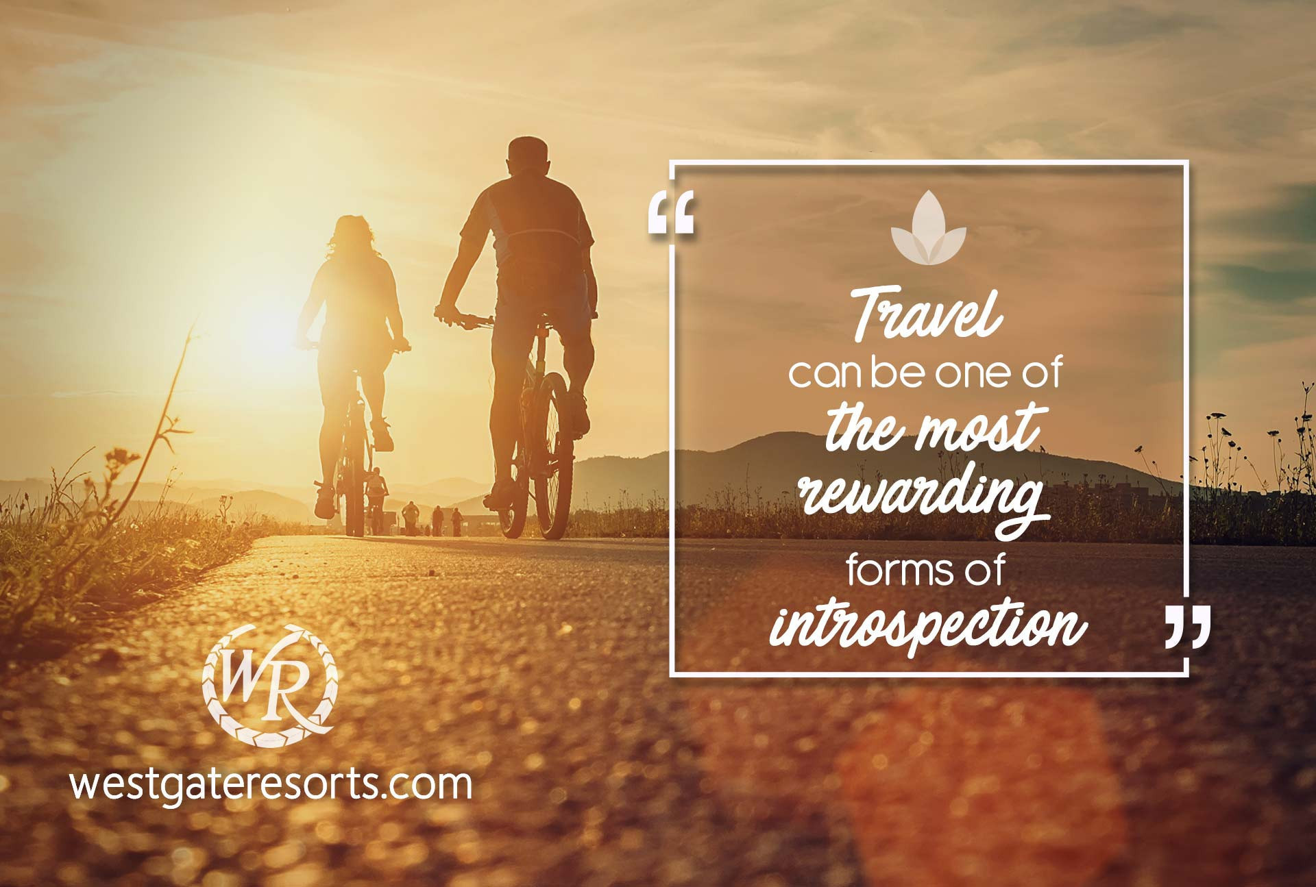 Travel can be one of the most rewarding forms of introspection | Travel Motivation Quotes | Inspirational Travel Sayings