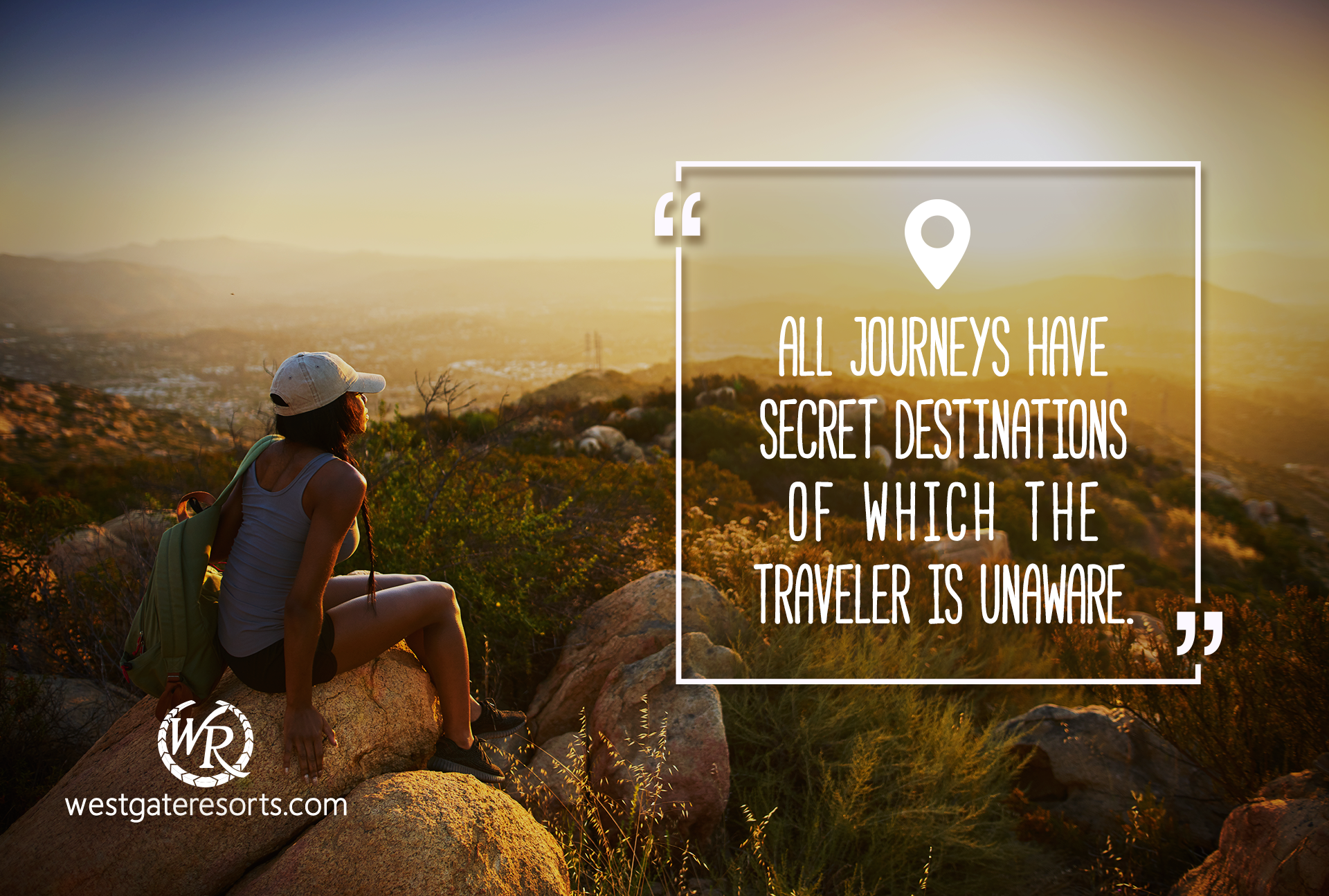 All journeys have secret destinations of which the traveler is unaware | Travel Motivation Quotes | Inspirational Travel Sayings