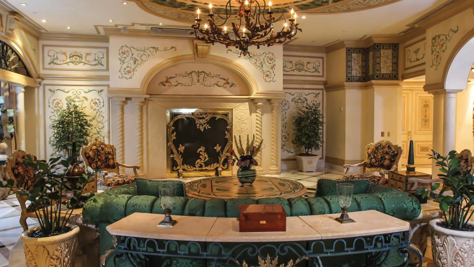 Living room in the Tuscany Sky Villa - Westgate Las Vegas