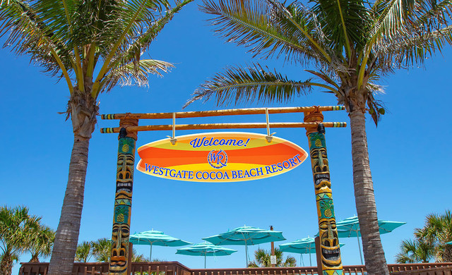 Water Parks Resort in Florida at our Hotel near Cocoa Beach | Entrance
