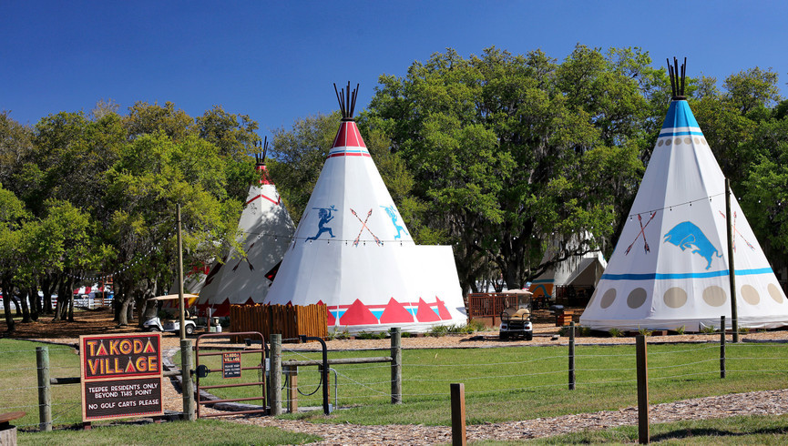 Dude Ranch in Florida | Teepee Village