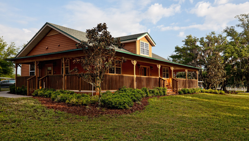 Exterior Cabin of Westgate River Ranch Resort
