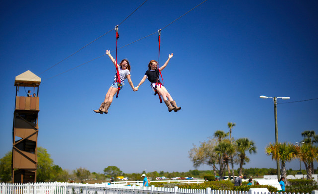 Florida Dude Ranch Resort near Orlando | Ziplining