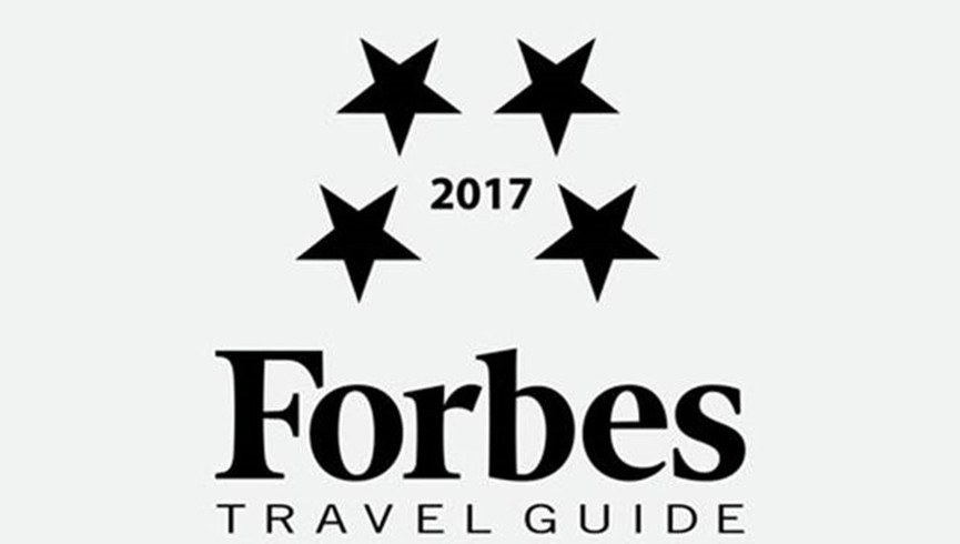 2017 Forbes Travel Guide Award