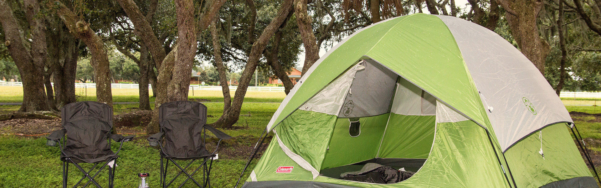 Tent Camping in Florida near Orlando | Campsite at Ranch