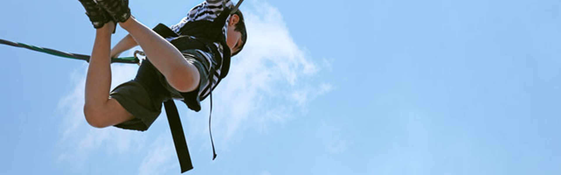 Florida Bungee Jumping near Orlando | Kid Bungee Jumping at Ranch