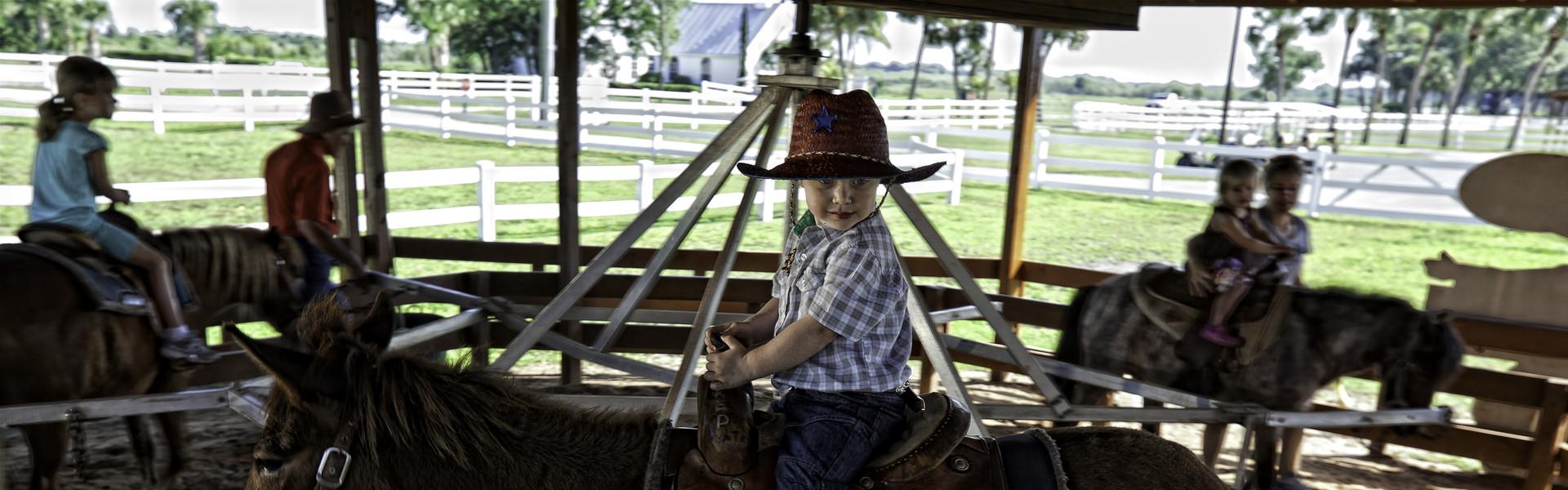 Pony Rides near Orlando, FL | Girl on Pony