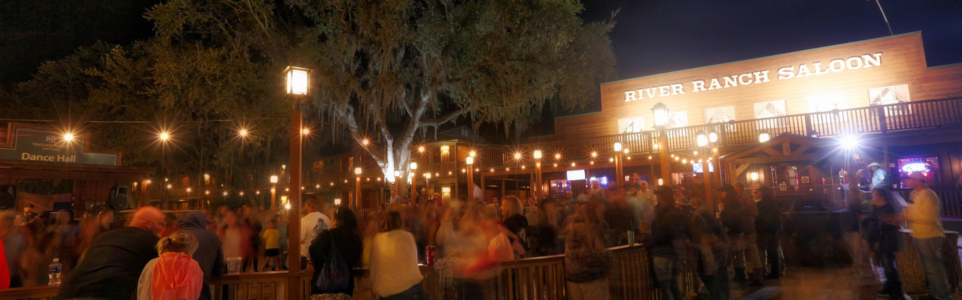 Prepare yourself for a good old-fashioned Western line dance at the Westgate River Ranch Resort & Rodeo Street Party, immediately following the Saturday Night Rodeo, where kids of all ages can sing, dance and compete in games, while the DJ plays.