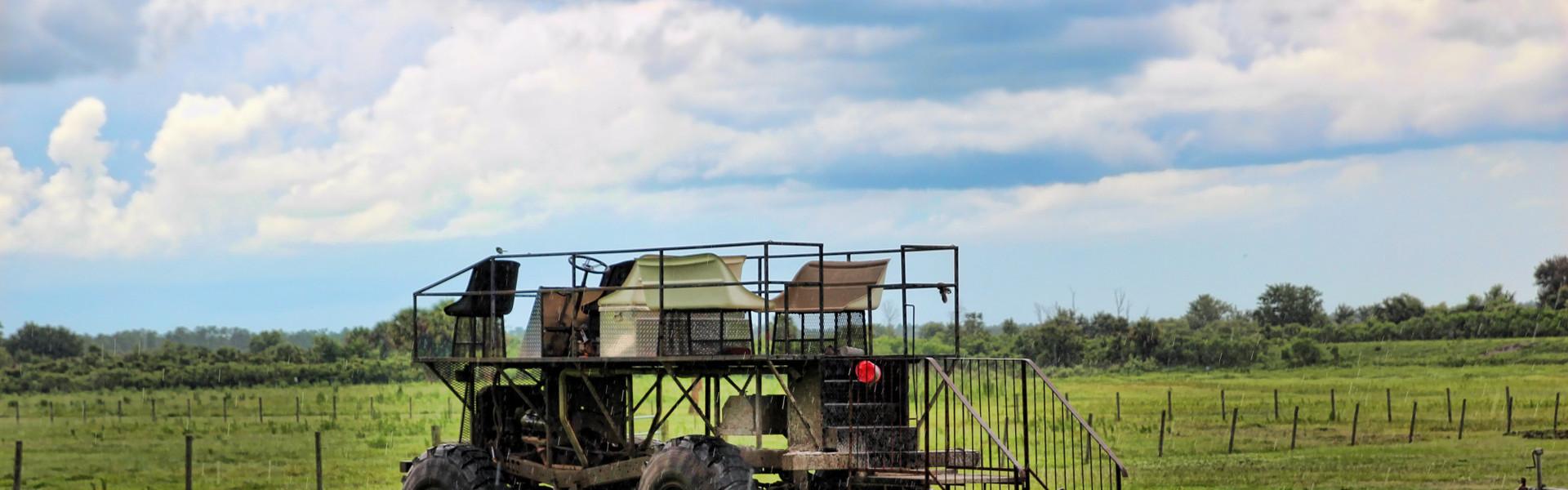 Swamp Buggy Rides near Orlando, FL | Swamp Buggy at the Ranch